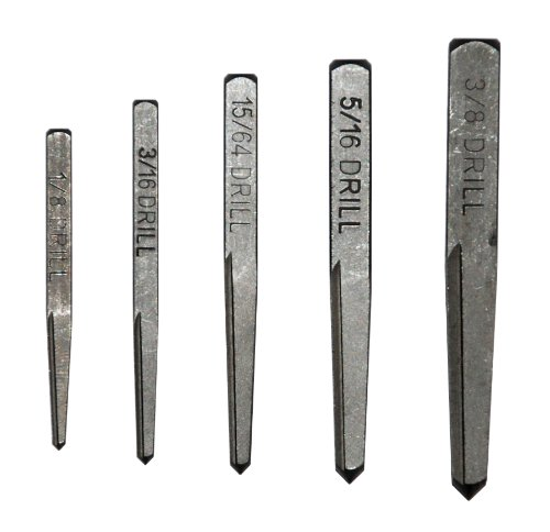 Tapered Fluted - Cal-Van Tools 441 Fluted Screw Extractor Set