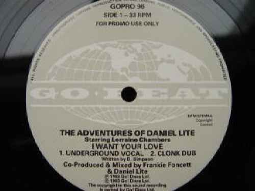 Price comparison product image Daniel Lite (Adventures Of) / I Want Your Love