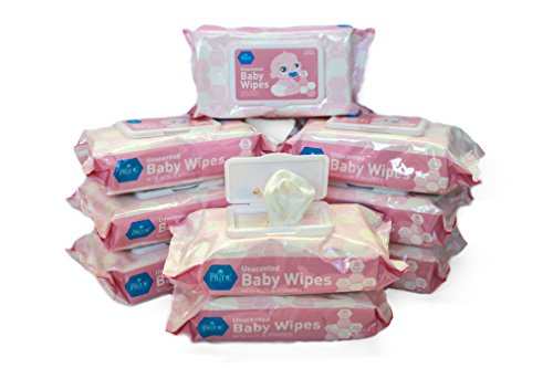 Medpride baby wipes, 3 pack, (240 count)