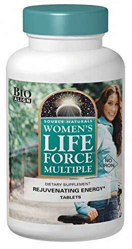 Source Naturals Womens Life Force Multiple No Iron Bio Aligned 90 tab