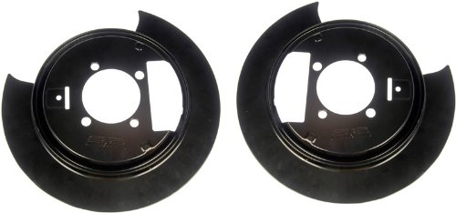Dorman 924-209 1PR.Rear L&R Brake Dust Shield Backing Plate 88935987 88935988 (Rear Dust Shield)