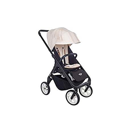 Easywalker - Tapizado para silla new mini stroller design set pepper white jack blanco: Amazon.es: Bebé
