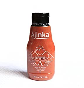 Ajinka Peruvian Rocoto Pepper Sauce (Hot) 250 ml