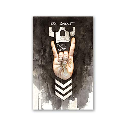 BULLET CLUB too sweet art print