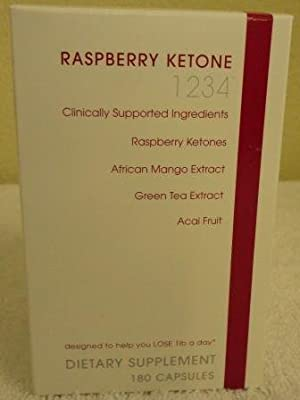 Creative Bioscience Raspberry Ketone 1234 Diet Supplement, 180 Count