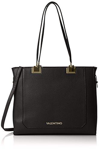 Mario Valentino Damen Anice Business Tasche, 11.0x30.0x36.0 cm Grau (Nero)