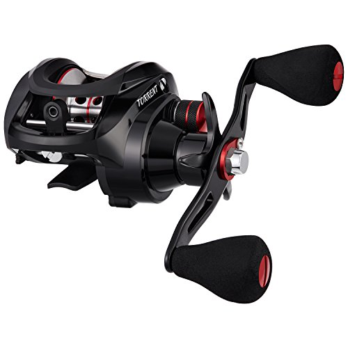 Piscifun Torrent Left Handed Baitcasting Reel 18LB Carbon Fiber Drag 7.1:1 Baitcaster Fishing Reel Tournament Baitcast Reels