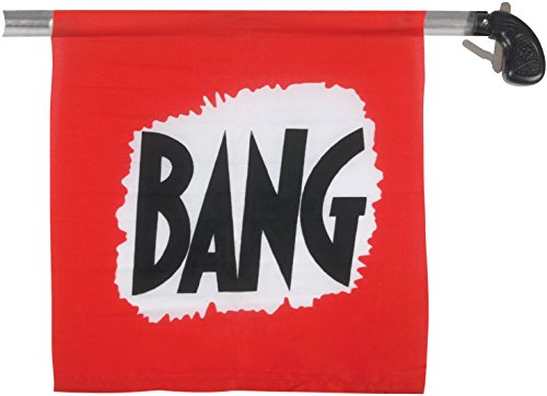 Loftus Bang Gun with Flag, Large/8.5