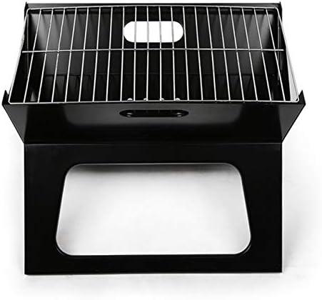 X Forme de fer pliant BBQ Grill en plein air Portable Charbroiler Camping Barbecue au charbon Cuisinière Kebab Torréfaction rack de pique-nique Batterie de cuisine