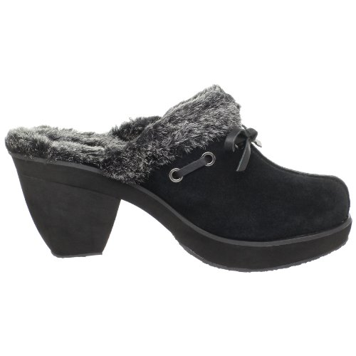 Skechers Disco Bunny Boogie Down Zuecos mujer / Zapatos Black