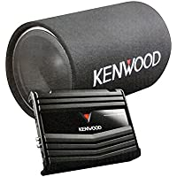 Kenwood P-W130TB 12-Inch Tube Subwoofer Party Pack, 1200W Subwoofer Peak Power