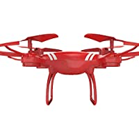 Littleice Quadcopter RC Remote Control Drone WiFi FPV Live Helicopter Hover Without Camera (Red)