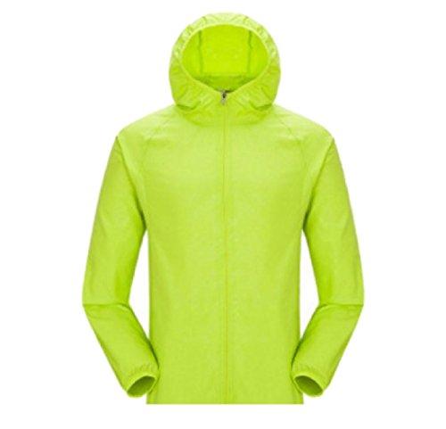 Giacca Colore Solare Casuale Crema Incappucciato Di Uomini Sottile Verde Moda Puro Againg Cappotto CAwqxB1U