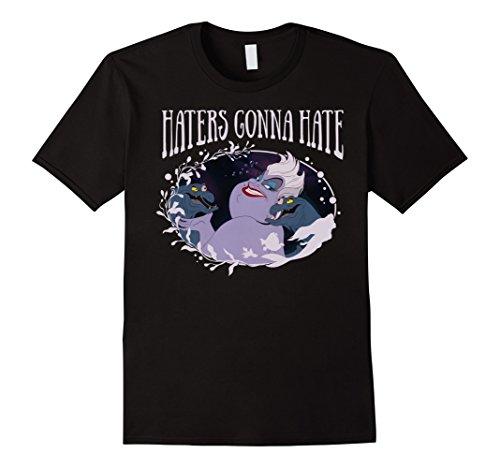 Mens Disney Little Mermaid Ursula Haters Gonna Hate T-Shirt 2XL Black (Ursula Mermaid)