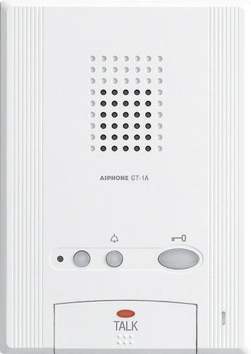 Series Door Intercom (Aiphone Corporation GT-1A Hands-Free Audio Tenant Station for GT Series, Multi-Tenant Intercom, ABS Plastic Construction, 6-7/8