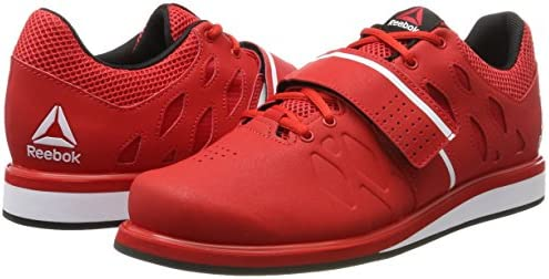 3e8ca99fd1dd Reebok Men s Lifter Pr Fitness Shoes Red L Red (Primal Red Black   White) 12  UK. Loading images.