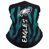 ILAVSHON Philadelphia Eagles Neck Gaiter Face