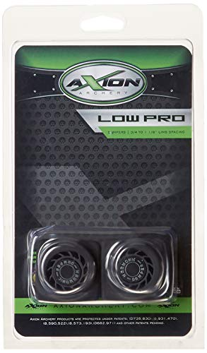 Axion Low Pro Limb Damper Mathews Black ()