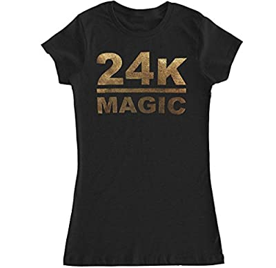 FTD Apparel Women's 24K Magic T Shirt