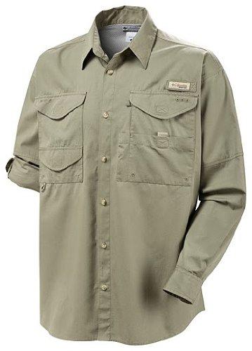 Columbia Men's Bonehead Long Sleeve Fishing Shirt (Sage, 3XT)