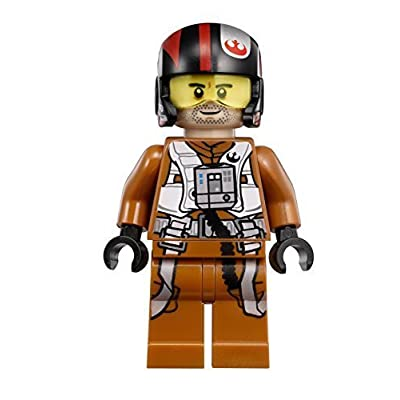 LEGO Star Wars: The Force Awakens Poe Dameron X-Wing Pilot Minifigure by LEGO: Toys & Games