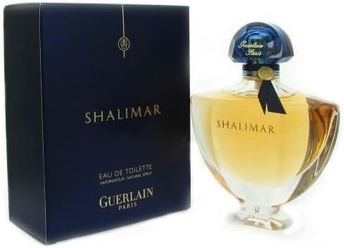 Shalimar Eau De Toilette Spray for Women by Guerlain, 3 Ounce