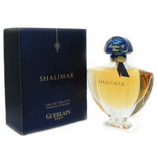 Shalimar Eau De Toilette Spray for Women by Guerlain, 3 Ounc