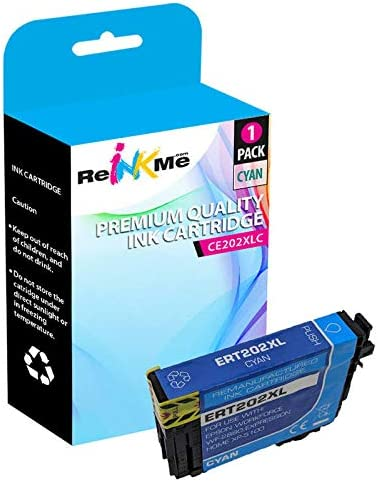 ReInkMe Remanufactured T202XL220 T202XL Cyan Ink Cartridge for Epson WF-2860