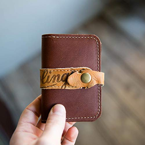 (The Sultan of Swat ~ Vintage Baseball Glove Snap Front Pocket Wallet)