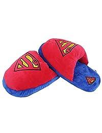 GERGER BO Superhero Boys Girls Plush Slippers