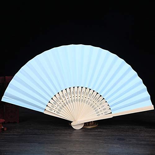 - Wholesale 30pcs Mulit Colors Bamboo&Paper Pocket Fan Folding Hand Held Fans Abanicos para Boda Leques De Casamento,6,