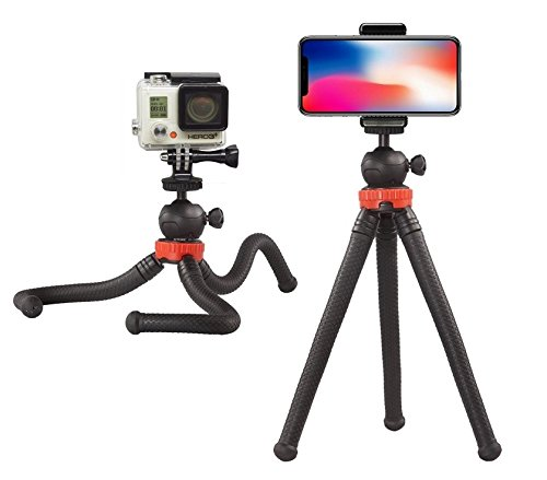 12'' Flexible Camera Tripod Stand Mount for Logitech Webcam Brio 4K, C925e,C922x,C922,C930e,C930,C920,C615 by AceTaken (Image #1)