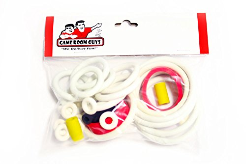 (Game Room Guys Williams Comet Pinball White Rubber Ring Kit)
