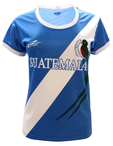 Arza Sports Guatemala Slim Women Soccer Jersey