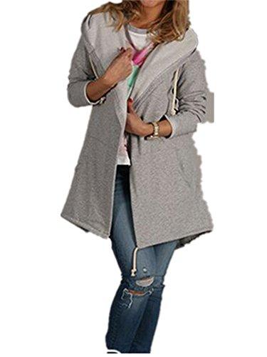 Maternity Sweater Jacket (Xuan2Xuan3 Women Long Sleeve Fleece Casual Cardigan Hoodies Sweatshirts Tunic Sweater Loose Outerwear Coat Jacket)