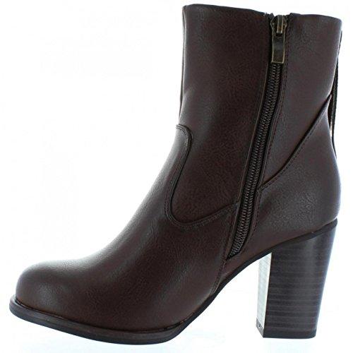 Boots für Damen MTNG 52859 SWEET COW MOKA