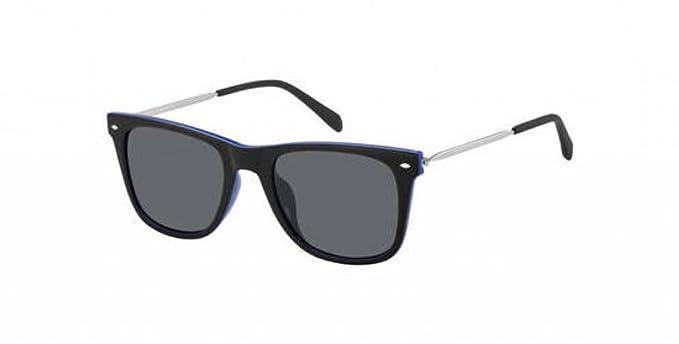 5f4a9e0c23 Amazon.com  Fossil Sunglasses FOS3068S (Black Blue