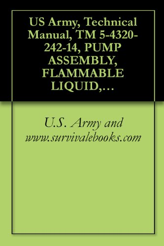 US Army, Technical Manual, TM 5-4320-242-14, PUMP ASSEMBLY, FLAMMABLE LIQUID, BULK TRANS GASOLINE ENGINE DRIVEN, 350 GPM CAPACITY AT 190 FOOT HEAD, WHEE ... military manauals, special forces