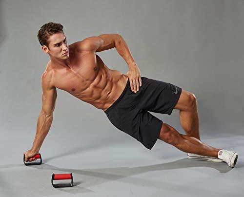 MetaBall Maniglie per Flessioni, Piegamenti sulle Braccia, Push Up Bar Stand per Palestra Fitness Esercizio Ginnastica… 5 spesavip