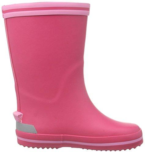 Freddo Gamba Rain Foderati Il Rosa pink Contro Boot Mezza Naturino gomma Stivali Bambina A rosa Fuxia AUzgW