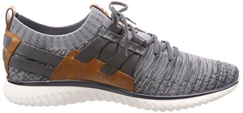 Cole Haan Herre Grandmotion Vævet Sneaker Med Stitchlite Magnet-ironstone Strik D9jdbPd3