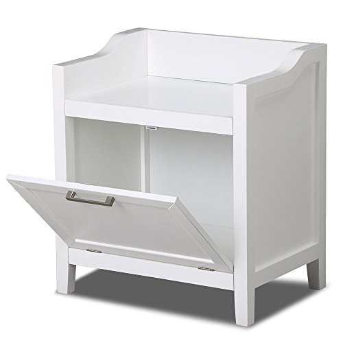 New White Cabinet Storage Stand White Wood Furniture Organizer Kitchen Bath Bathroom Floor by totoshopcabinet