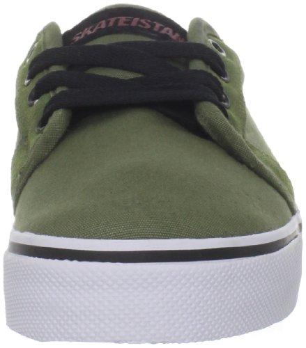 Fallen FORTE 23818004 - Zapatillas de skate de ante para hombre Verde