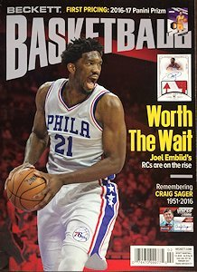 newest-guide-beckett-basketball-card-monthly-price-guide-january-9-2017-release-j-embiid-cover