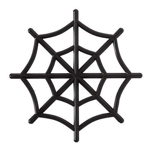 Halloween Spider Web Cake Topper - 1 Piece - -