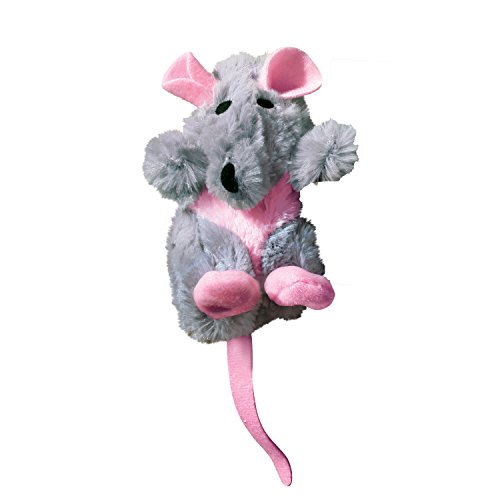 - KONG Rat Refillable Catnip Toy (Colors Vary)