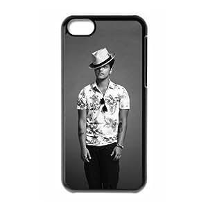 taoyix diy C-EUR Print Bruno Mars Pattern Hard Case for iPhone 5C