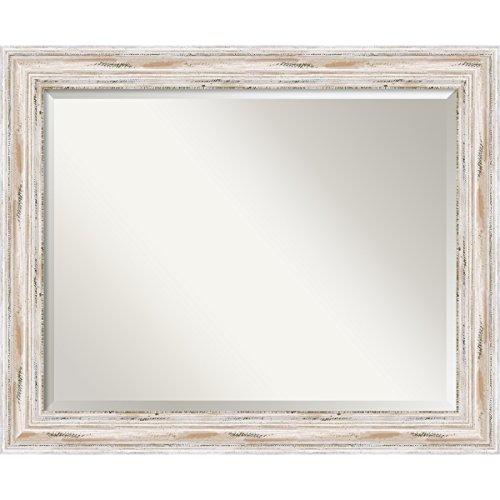 Wood Framed Rectangular Mirror Large: Amazon.com