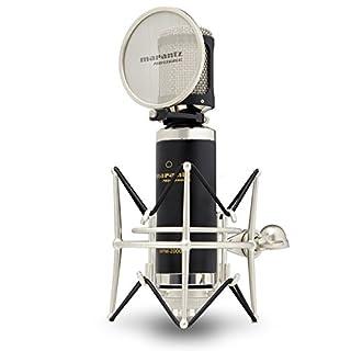 Marantz Professional MPM2000 | Premium Large Diaphragm Condenser Microphone With Pop-Shield, Shock-Mount and Aluminium Case