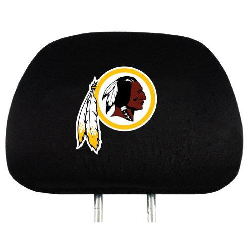NFL Washington Redskins Head Rest Covers, 2-Pack (Headrest Covers Washington Nationals)